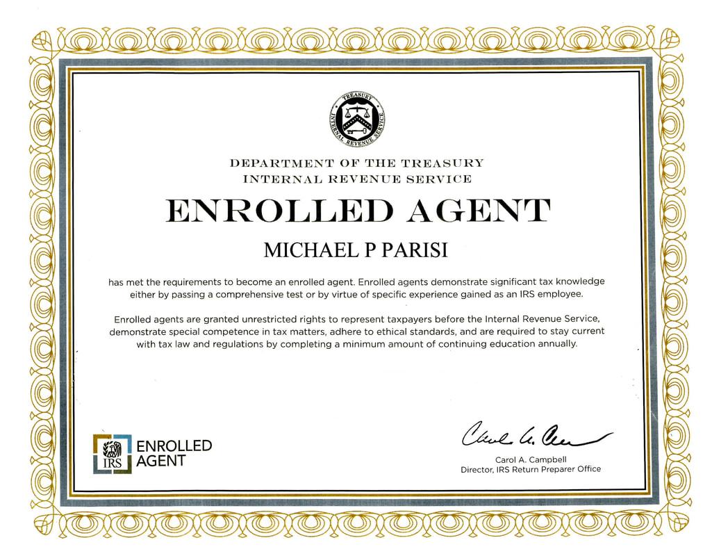 Mike Parisi Tax Consultants Mike Parisi Tax Consultants